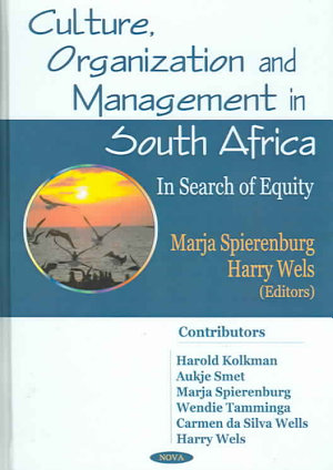Culture  Organization and Management in South Africa PDF