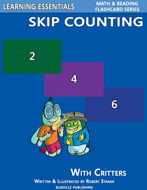 Skip Counting by 2  3  4  5  6  7  8  9  and 10  Number Flash Cards with Critters PDF