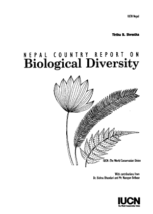Nepal Country Report on Biological Diversity PDF