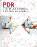PDR Guide to Drug Interactions  Side Effects  and Indications PDF
