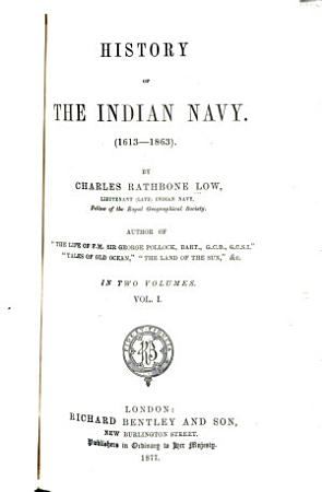 History of the Indian Navy PDF
