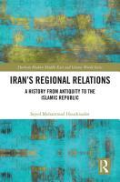 Iran s Regional Relations PDF