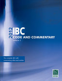 2012 IBC Code and Commentary Book