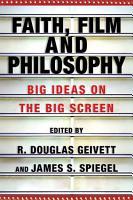 Faith  Film and Philosophy PDF