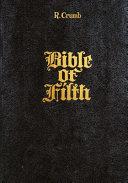 R  Crumb  Bible of Filth