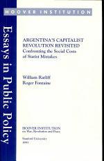 Argentina's Capitalist Revolution Revisited
