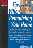 Tips When Remodeling Your Home PDF