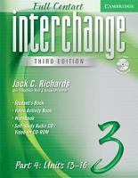 Interchange Third Edition Full Contact Level 3 Part 4 Units 13 16 PDF