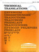 Technical Translations PDF
