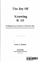 The Joy Of Not Knowing It All Book PDF
