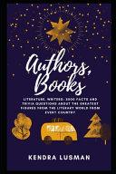 Authors, Books, Literature, Writers