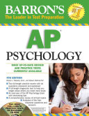 Barron s AP Psychology with CD ROM Book