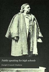 Public speaking for high schools