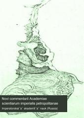 Novi commentarii Academiae scientiarum imperialis petropolitanae: Volume 19