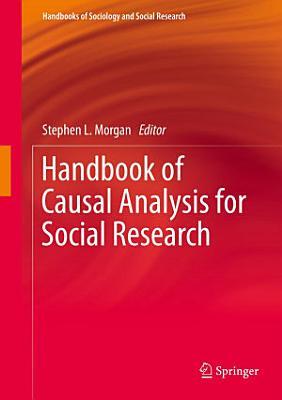 Handbook of Causal Analysis for Social Research PDF