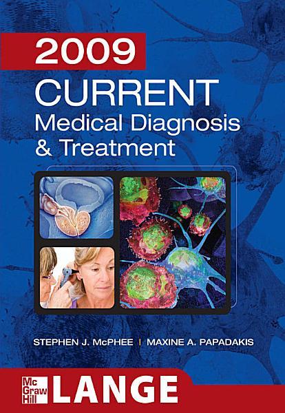 CURRENT Medical Diagnosis and Treatment 2009 PDF