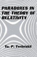 Paradoxes in the Theory of Relativity PDF
