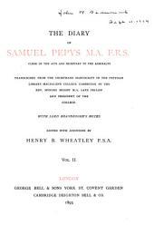 The Diary of Samuel Pepys: Volume 2
