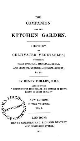 The Companion for the Kitchen Garden PDF