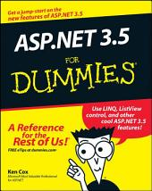 ASP.NET 3.5 For Dummies