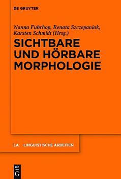 Sichtbare und h  rbare Morphologie PDF