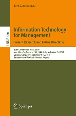 Information Technology for Management: Current Research and Future Directions