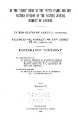 United States of America Vs  Standard Oil Company  and Others PDF