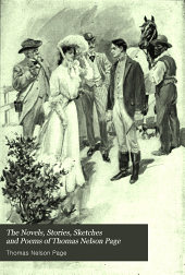 The novels, stories, sketches and poems of Thomas Nelson Page: Volume 9