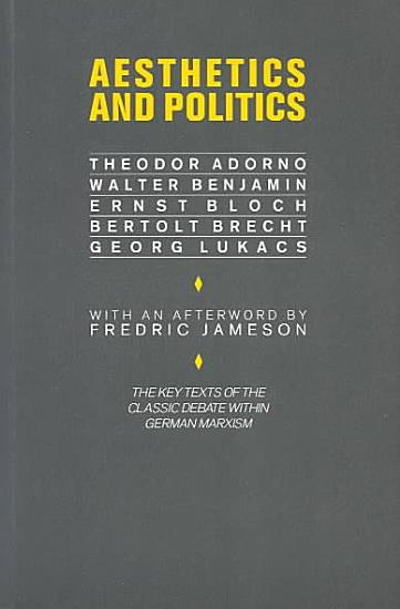 Aesthetics and Politics PDF