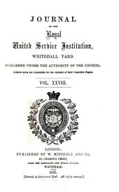 Journal of the Royal United Service Institution: Volume 28