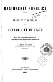 Ragioneria pubblica: *Trattato elementare di contabilità di Stato