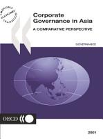 Corporate Governance in Asia A Comparative Perspective PDF
