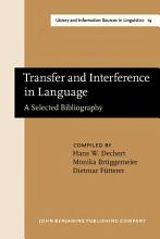 Transfer and Interference in Language PDF