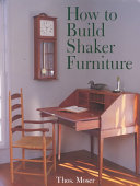 How to Build Shaker Furniture PDF