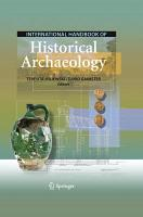 International Handbook of Historical Archaeology PDF