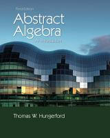 Abstract Algebra  An Introduction PDF