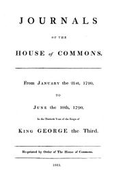 Journals of the House of Commons: Volume 45