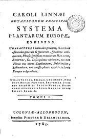 Caroli Linnæi ... Systema plantarum Europæ, curante J.E. Gilibert