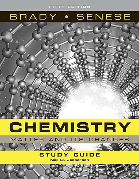 Chemistry  Student Study Guide PDF