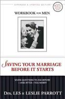 Saving Your Marriage Before it Starts PDF
