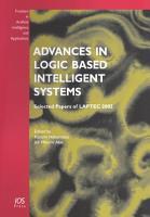 Advances in Logic Based Intelligent Systems PDF