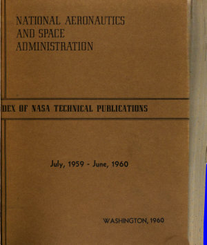 A Selected Listing of NASA Scientific and Technical Reports for     PDF