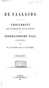 De taalgids: tijdschrift tot uitbreiding van de kennis der Nederlandsche taal, Volume 3