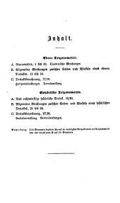 Ebene und sphärische Trigonometrie in analoger theils neuer theils verbesserter Durchführung zum heuristischen Unterrichte