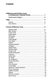 Wilderness and primitive areas in southwestern national forests