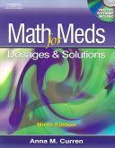 Math for Meds PDF