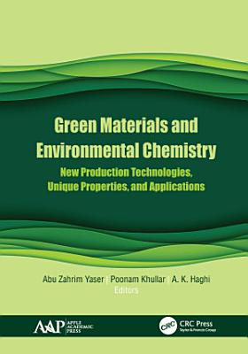 Green Materials and Environmental Chemistry