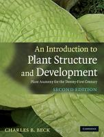 An Introduction to Plant Structure and Development PDF