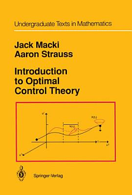 Introduction to Optimal Control Theory PDF