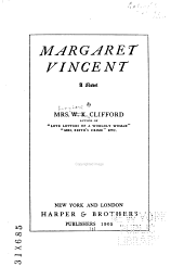 Margaret Vincent: A Novel